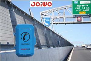 Ningbo Joiwo's rugged weatherproof  telephone  used for high speed way and marine