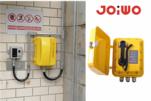 Ningbo Joiwo  Explosionproof  telephone system  in  warehouse