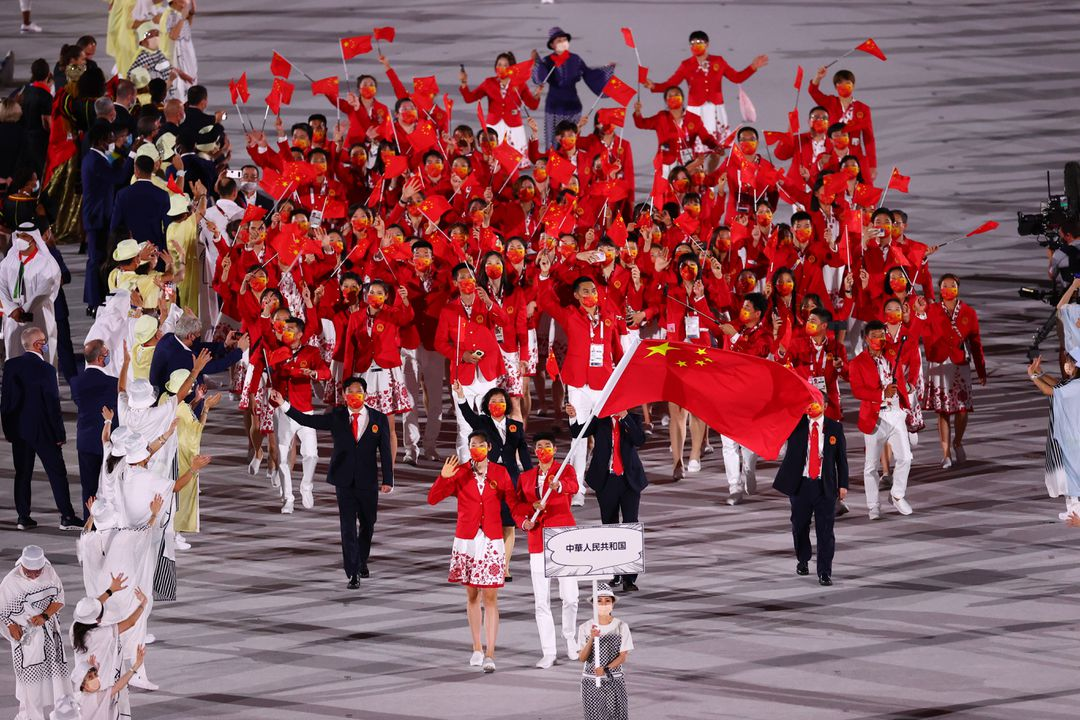In Olympic Games Tokyo 2020, China Team have left many highlight here.