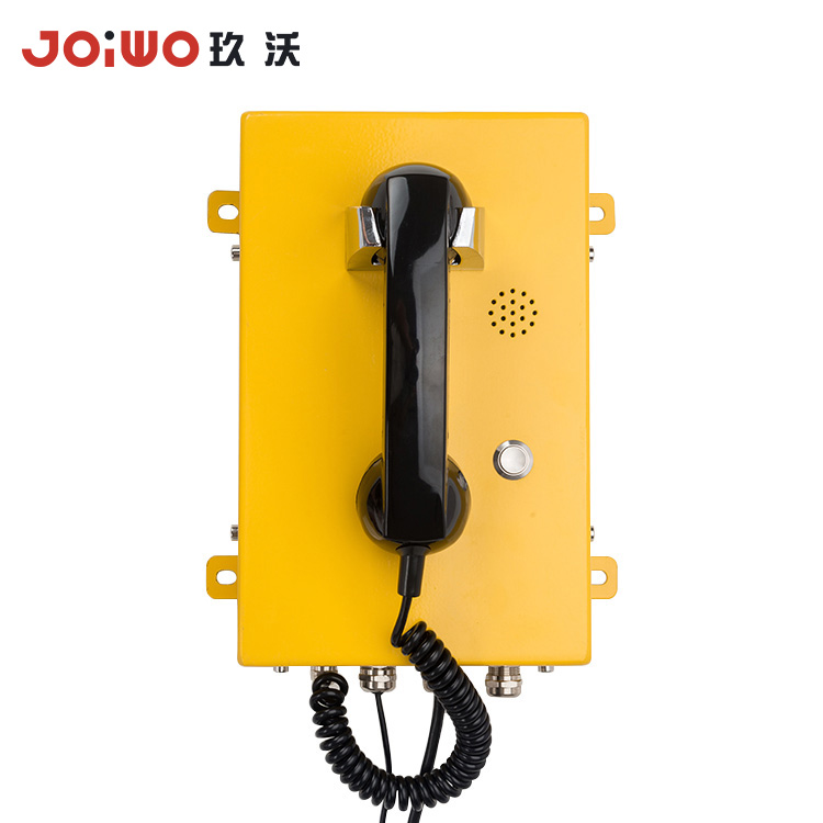 Introduce of  Joiwo SoS Emergency Telephone  IP Telephone  with One Button Industrial Telephone JWAT907
