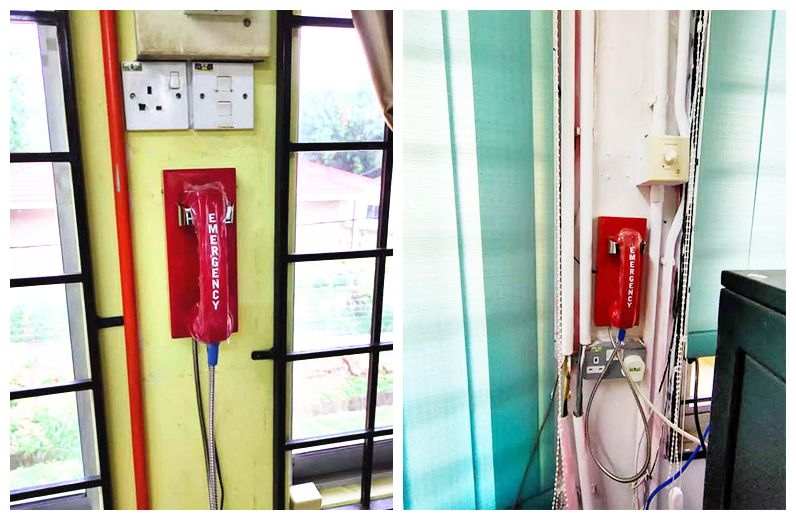 Our industrial red hot- line public phone Emergency telephone JWAT205  for school