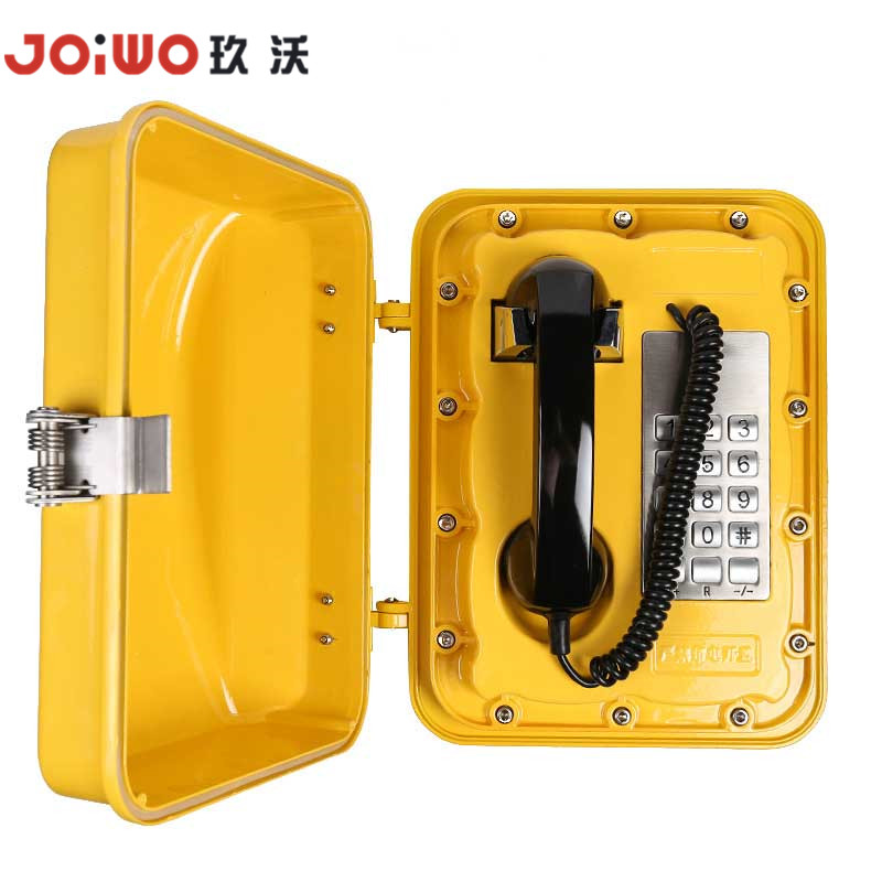 Highway Corded Armoured Telephone Heavy Duty Analog tunnel Telephone - JWAT301