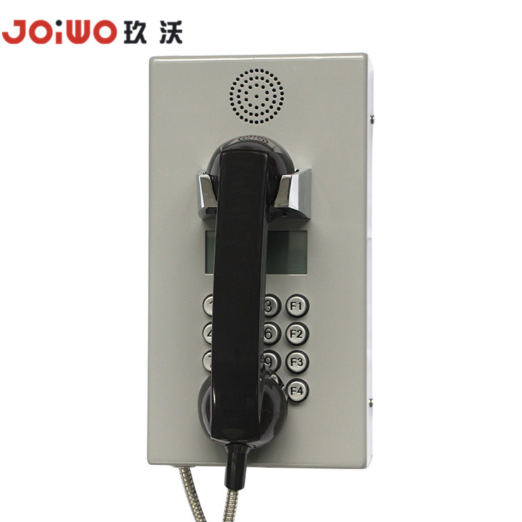 Joiwo Brand Tunnel Mine Wall Mounted Industrial Voip Corded Telephone
