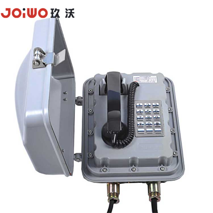 Explosion Proof Outdoor Wall Mount Fiber Optic Phone vir olie en gas -JWBT832