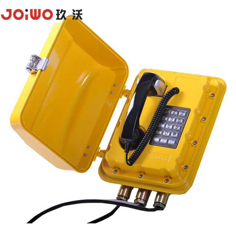 Anti-Explosion Fiber Optic Telephone Sound Powered Vandal Proof Telephone - JWBT830