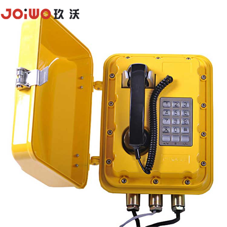 Explosion Proof Fiber Optic Telephone Extension Mining Telephone - JWBT831