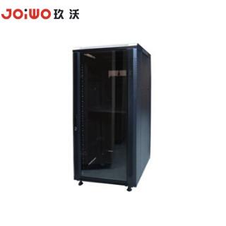 Black Standing SIP Switch Network Cabinet IP PBX 9 Slots Cabinet