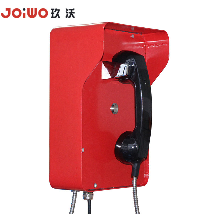 Dustproof Moisture-Resistant Public Emergency Telephone For Indoor Or Outdoor Use -JWAT206