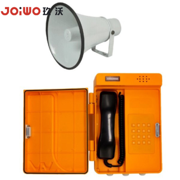 Anti-vandal telephone service equipment Public Plastic VOIP Telephone - JWAT905