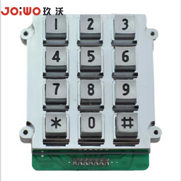 Waterproof Metal Numeric Keypad Telephone and Payphone Usage