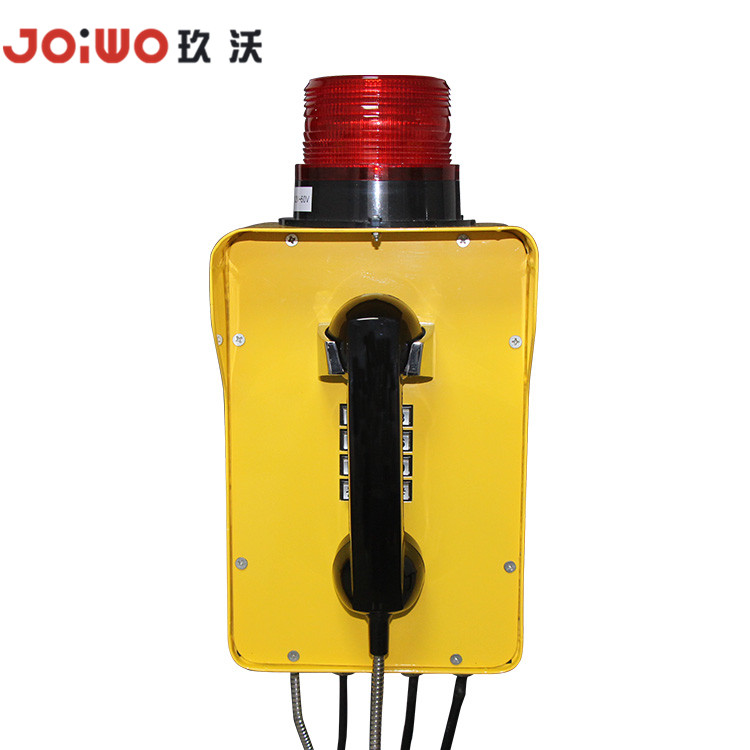 High Quality Waterproof Underground Mining Telephone with Beacon Light - JWAT310
