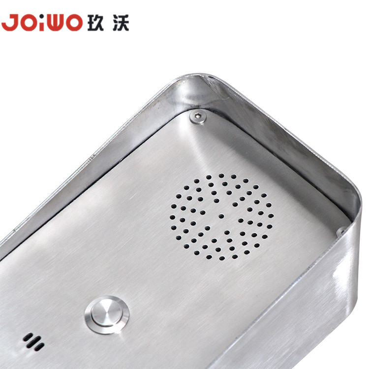 stainless steel anti resistant handsfree telephone