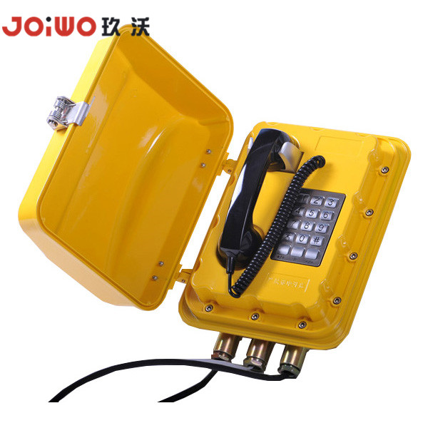 explosion proof and waterproof natural gas IP optical fiber industrial telephone