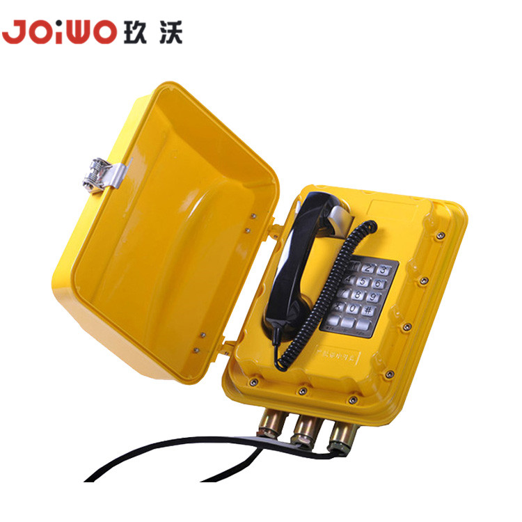 Mine Coal Oil and Gas analogue IP gsm type emergency telephone
