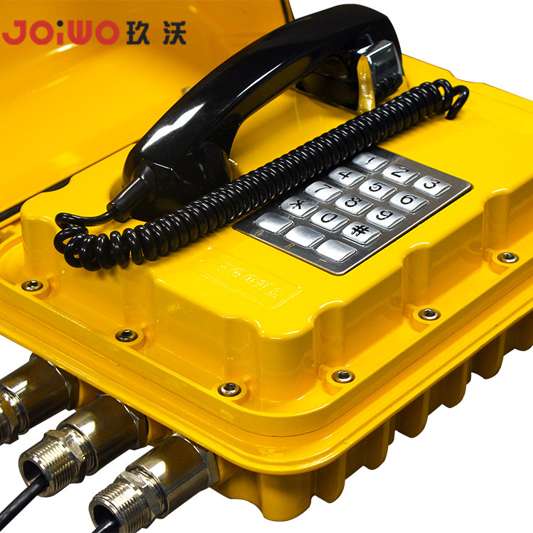 SOS Basic Function Explosion Proof Telephone for Oil Exploration hotel intercom