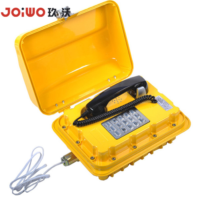 Robust aluminium alloy Explosion Proof telephone