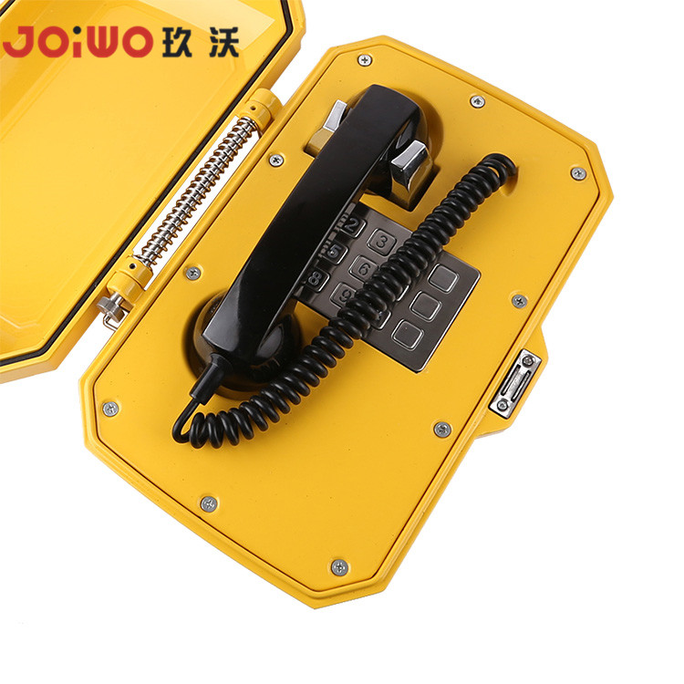 Handset type with aluminum case waterproof case outdoor use POE sip phone