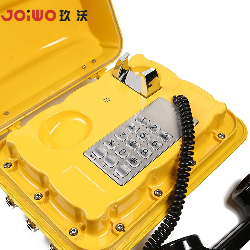 Industrial emergency IP waterproof aluminum alloy handset IP66 telephone