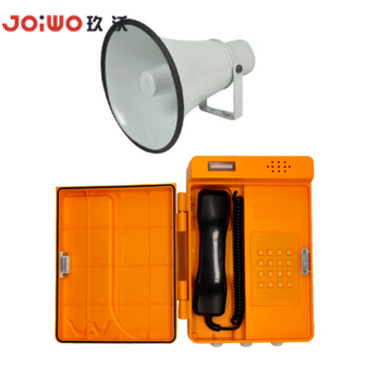 emergency plastic LED light waterproof ringer weatherproof telephone