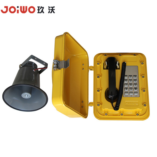 Emergency Telephone Roadside Amplified Telephone Heavy duty industrial telephone for Subway JWAT302