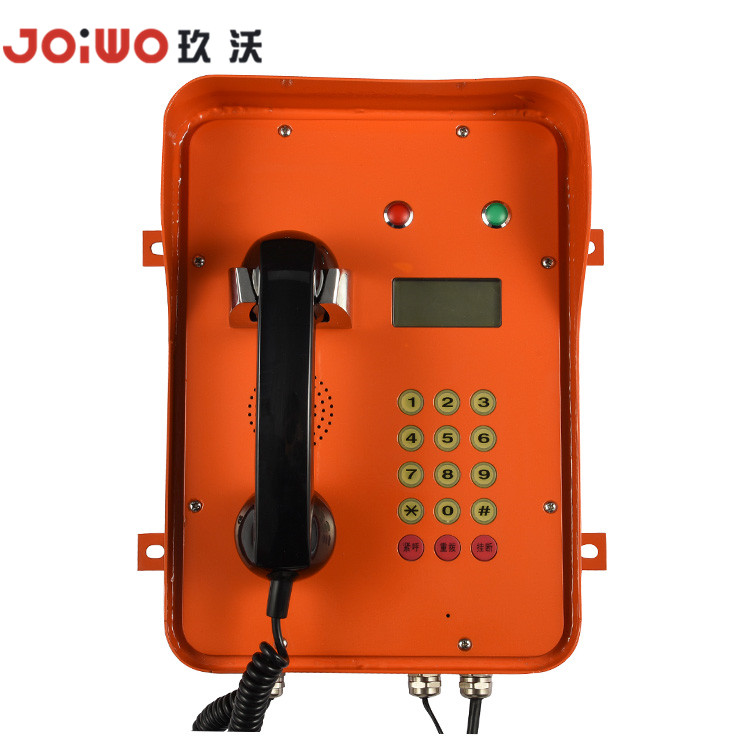 IP65 weatherproof Telephone Dispatch System Telephone for Undergroud Pipe Gallery - JWAT207