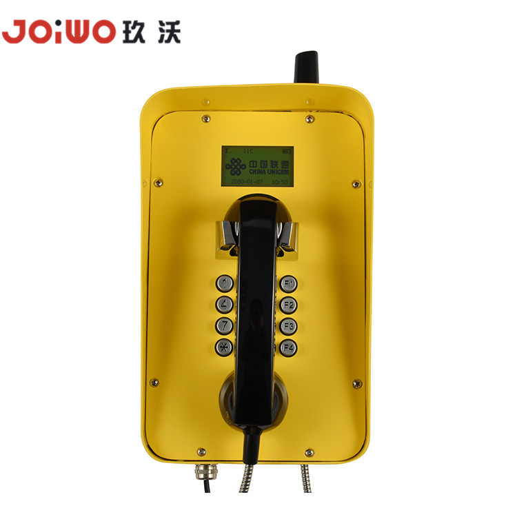 Steel rolling anti-corrosion call display waterproof tunnel Highway Industrial telephone