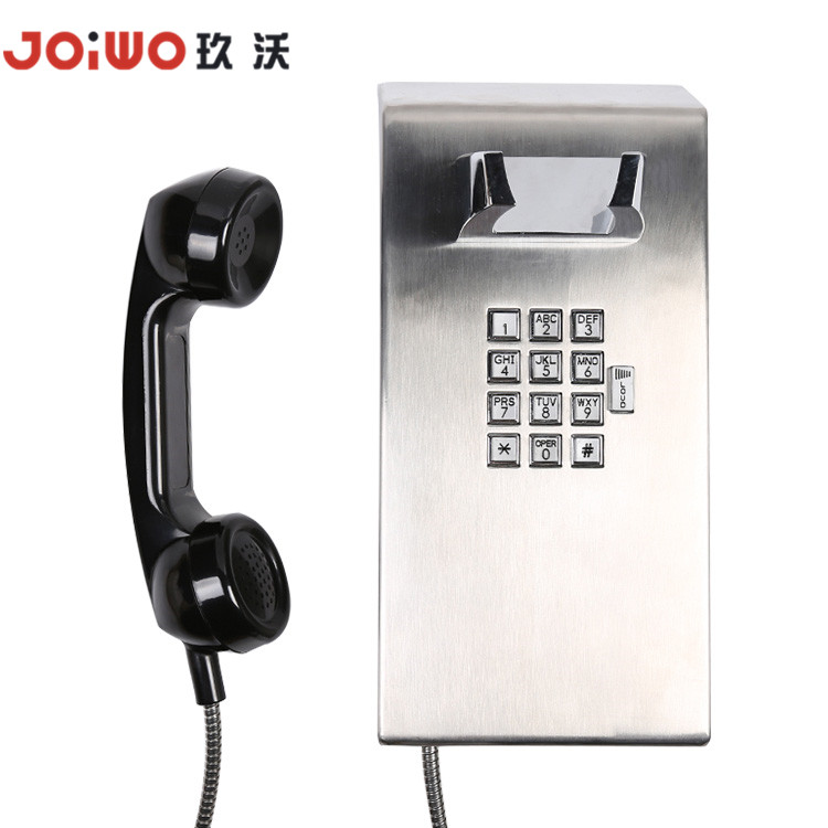 Joiwo IP65 Stainless Steel Inmate Telephone  for Jail and Drunk Tanks - JWAT137