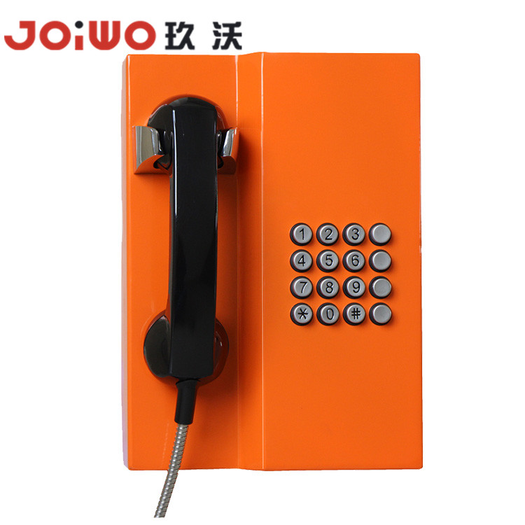 Intercom telephone  custimized cold rolled steel public telephone-JWAT201