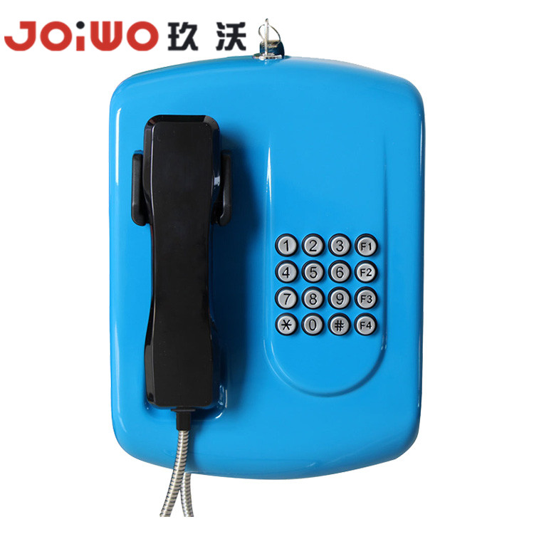 Cold rolled steel rugged outdoor protected speed dial telephone utility public telephone-JWAT204