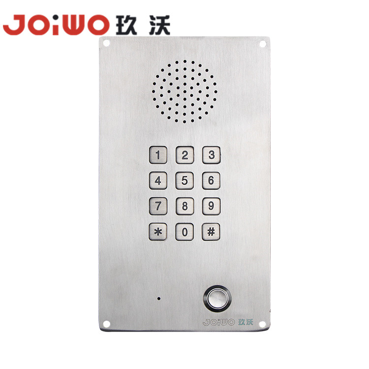 elevator phone with full keypad