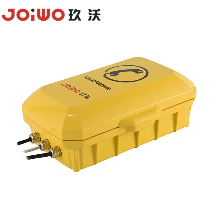 Industrial Emergency Aid Point VOIP SIP IP njanji ya Weatherproof - JWAT935