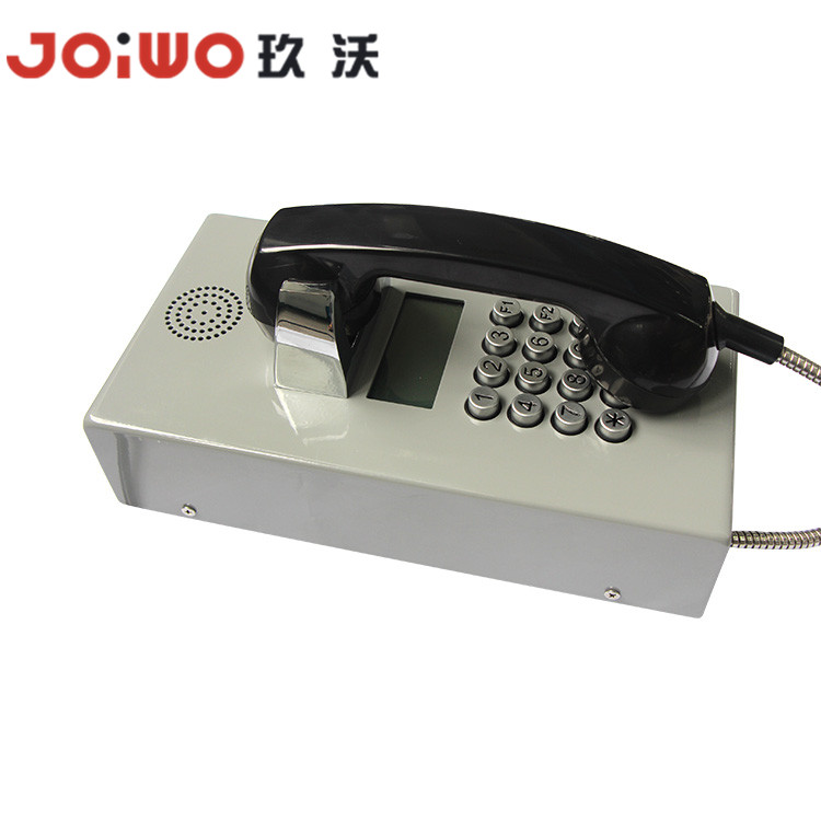 oiwo Brand Tunnel Mine Wall Mounted Industrial Voip Corded Telephone