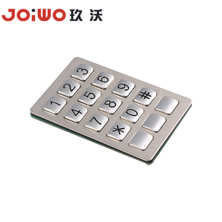 high quality zinc alloy material keypad