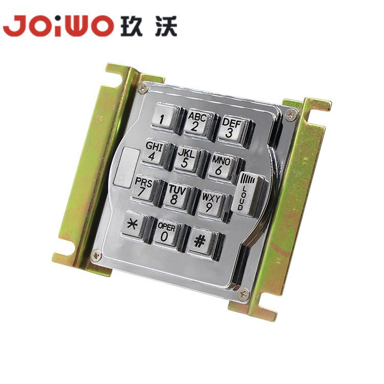 Custom 3X4 Waterproof Backlit Standalone Access Control Keypad Rugged Usb Metal Numeric Keypad