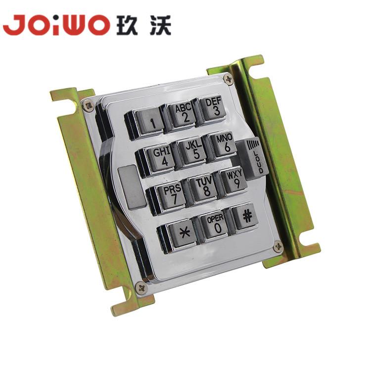 Customized backlit industrial keypad 3x4 layout metal access control matrix numeric keypad