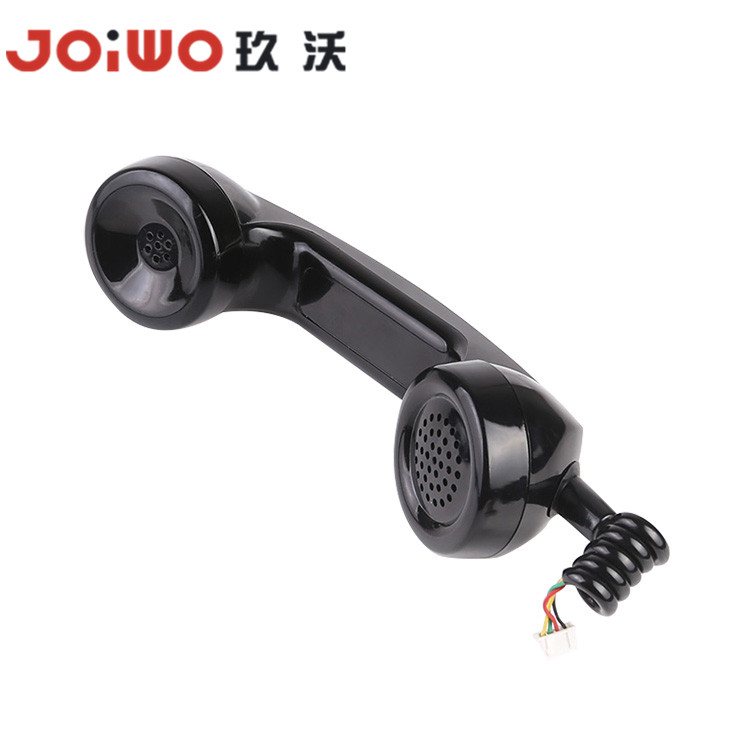 Firefighter emergency phone handset/industrial rj11 audio door phone handset