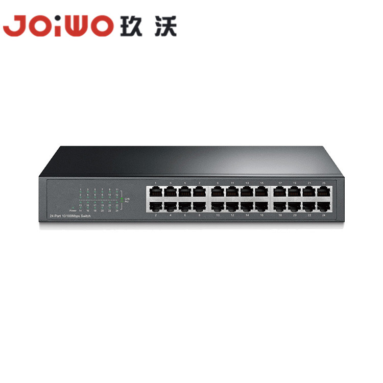 16/24-Port 10/100Mbps  Desktop/Rackmount Switch JWDT1024D