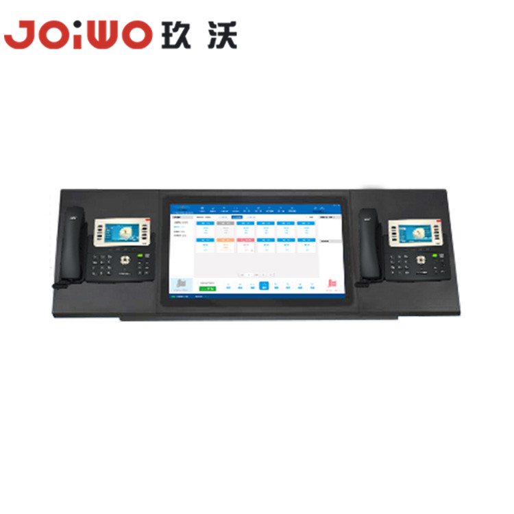 industrial  telecom solution  touch screen dispatcher Dispatching Desk- JWDT621