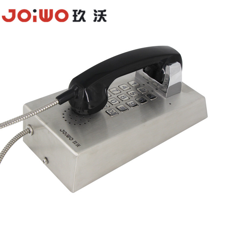 industrial voip sip ip inmate armored telephone with backlight keypad