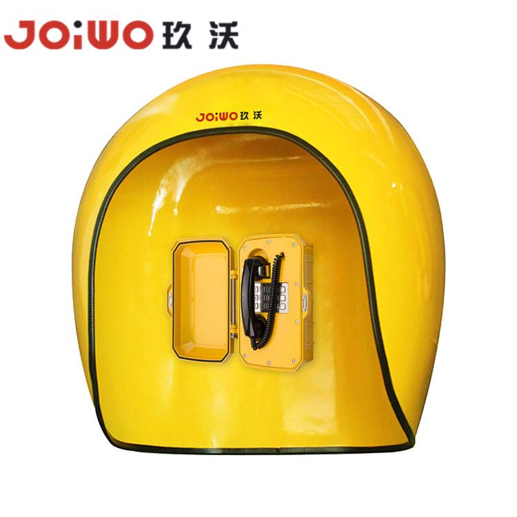 Waterproof Telephone noise reduction Acoustic hood Booth Fiberglass Acoustic telephone Hood