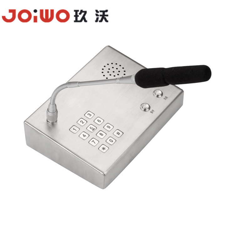 stainless steel desktop  telephone