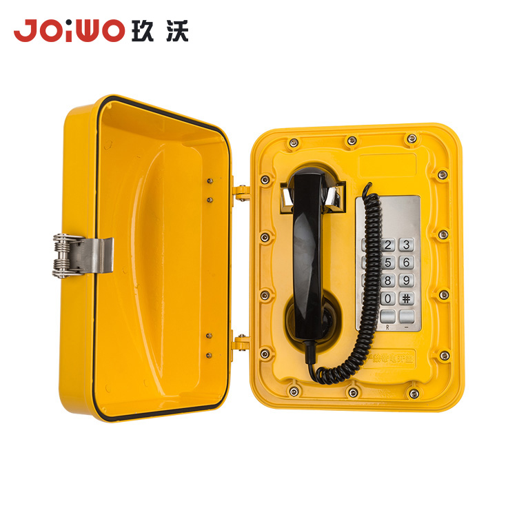 Highway Corded Armored Phone Heavy Duty Analog tunnel Phone - JWAT301