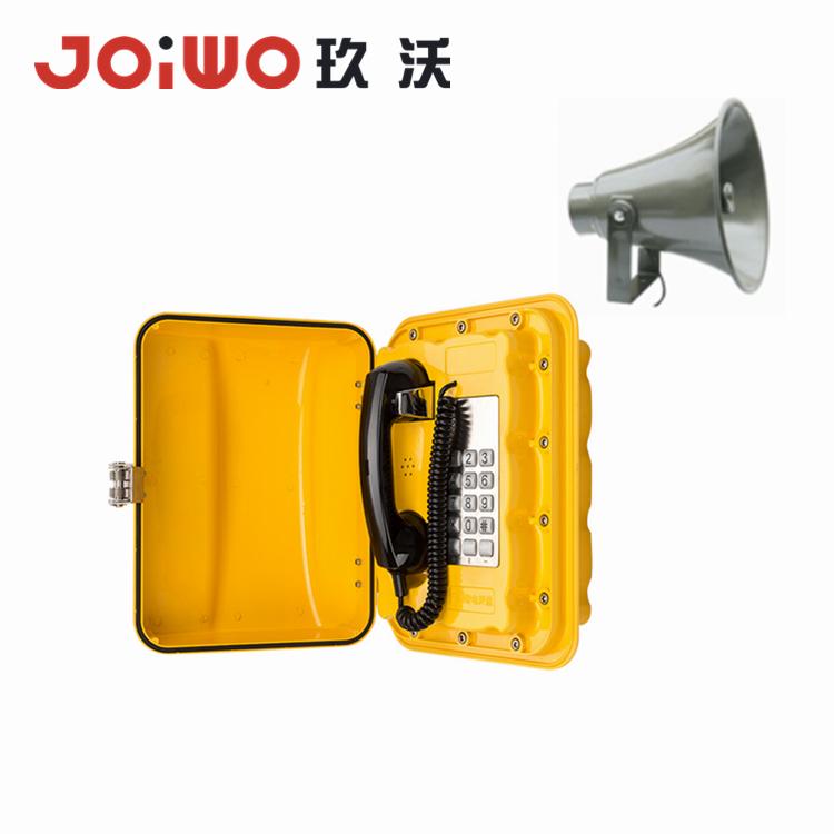 Endüstri Telefon Muhafazası Su Geçirmez Telefon VOIP telefon - JWAT902