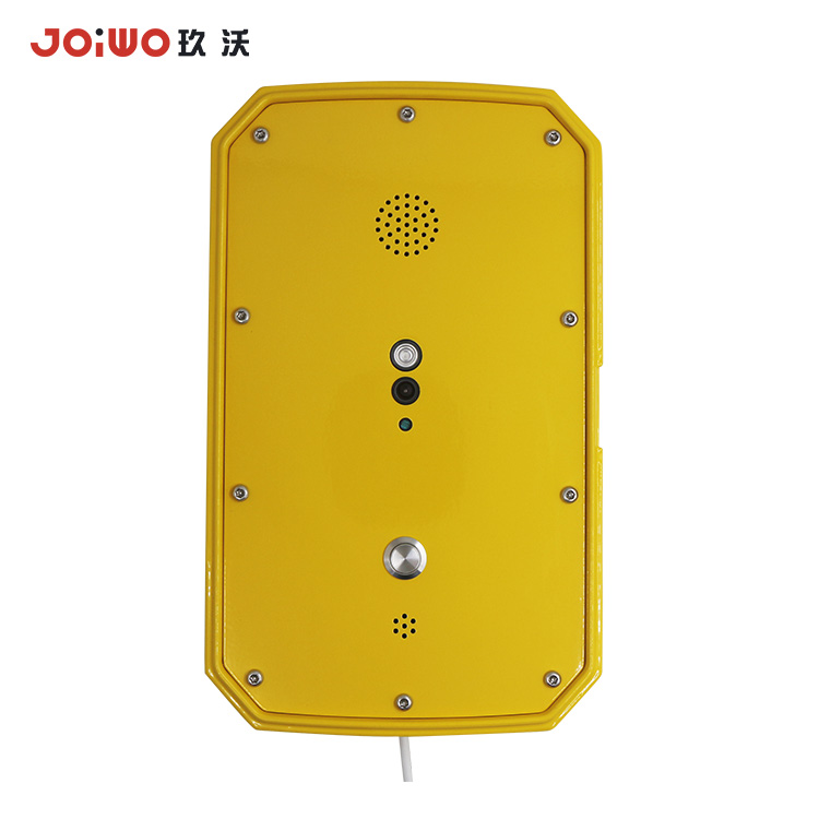 Auto dial Phone heavy duty emergency telephone  VOIP Video Intercom for food factory --JWAT941